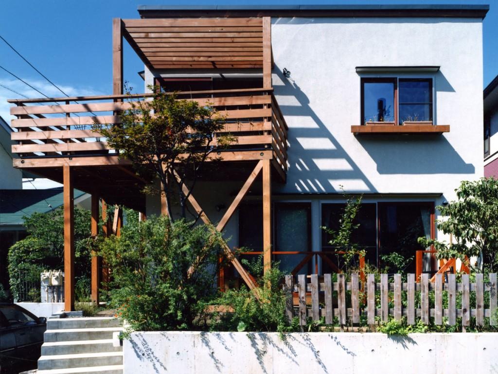 工作室のある二世帯住宅