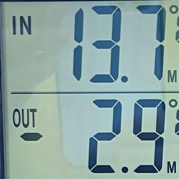 町田市でも所により氷点下の冷え込み。家の室温は何度?
