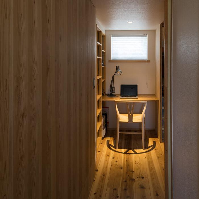 仕事部屋、スペースのある家